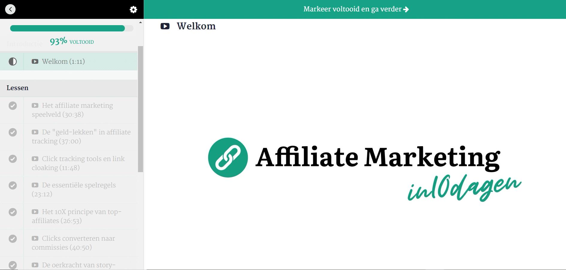 review - affiliate marketing in 10 dagen