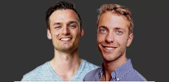 Patrick Suiker en Derek Westra